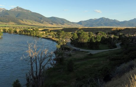 Yellowstone River at Mallard's Rest