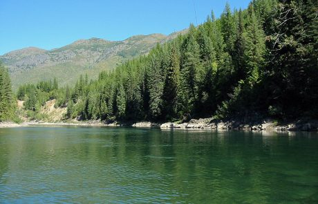 North Fork Flathead River in Montana