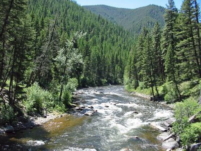 Rock Creek in Montana