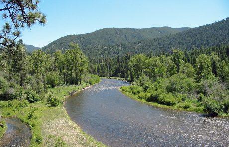 Upper Rock Creek in Montana