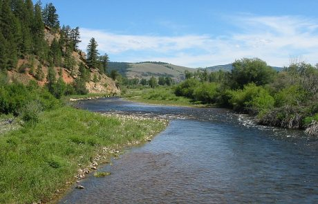 Upper Rock Creek in Montana