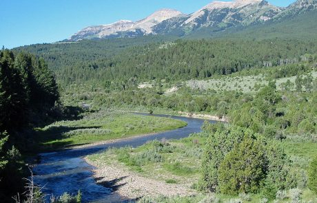 The Upper Ruby River & the Snowcrest Mountain Range