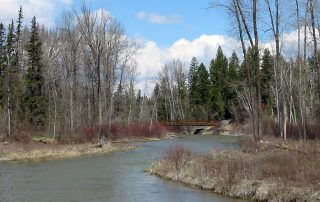 Stillwater River in Northwest Montana