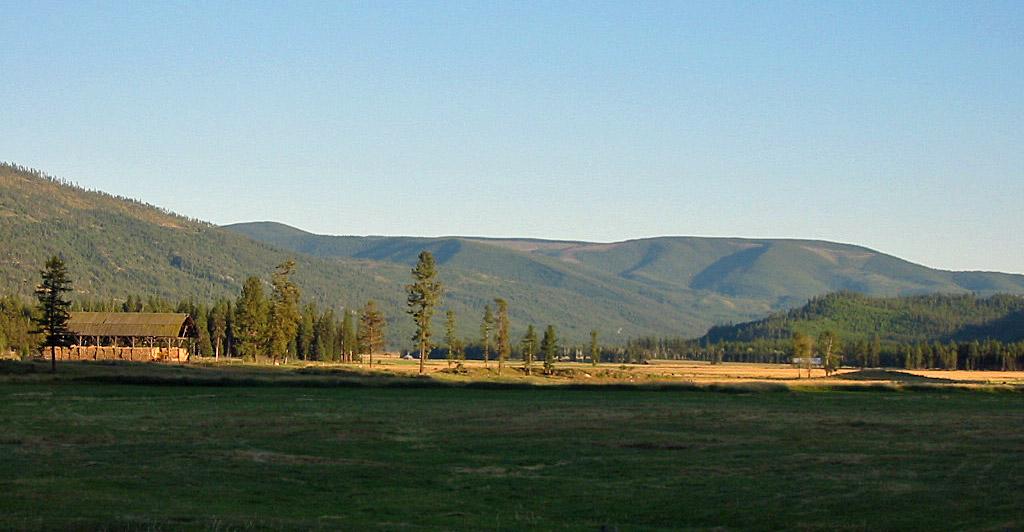 Thompson River Valley in Northwest Montana