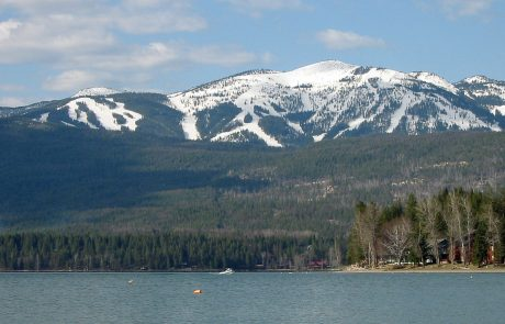 Whitefish Lake and Whitefish Mountain Ski Resort