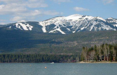 Whitefish Lake and Whitefish Mountain Ski Resort