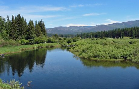 Yaak River in Northwest Montana