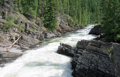 Yaak Falls on the Yaak River
