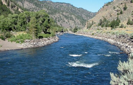Yankee Jim Canyon on the Yellowstone River