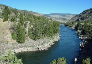Yankee Jim Canyon on the Yellowstone River