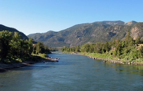 Just Below Yankee Jim Canyon on the Yellowstone River