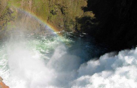 Yellowstone Brink of Falls