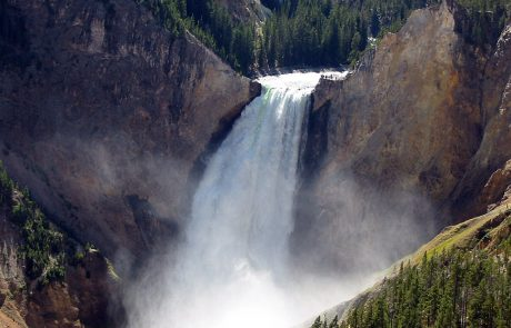 Yellowstone River at Lookout Point