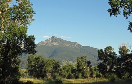 Scenic Views from Mallard's Rest Fishing Access Site in Montana