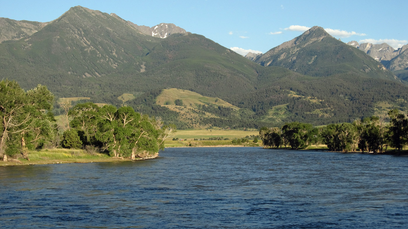 Yellowstone River in Montana