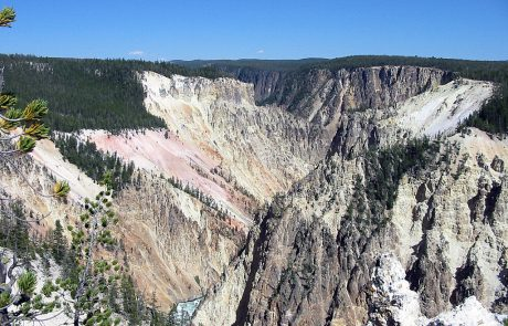 Yellowstone River in the Grand Canyon of the Yellowtone