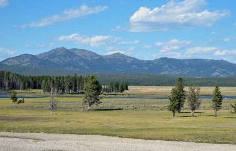 The Hayden Valley in Yellowstone National Park