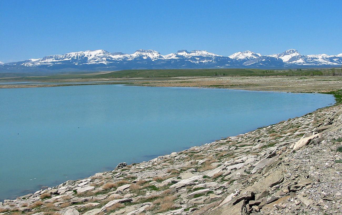 Bynum Reservoir