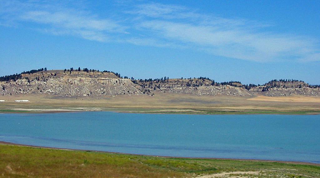 Dead Man's Basin Reservoir
