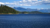 Hungry Horse Reservoir in Northwest Montana