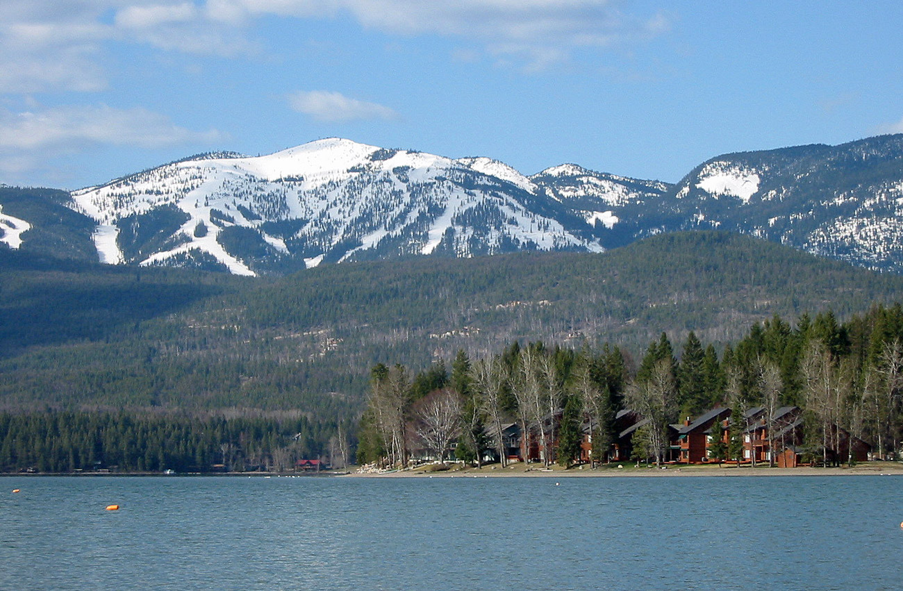 Whitefish Lake in Northwest Montana